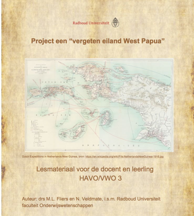 Project over West Papua