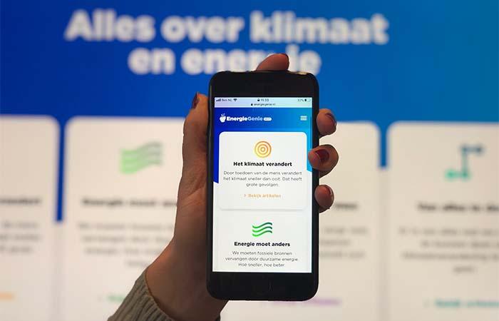 EnergieGenie Next: een educatief platform over energie met kant-en-klare lessen