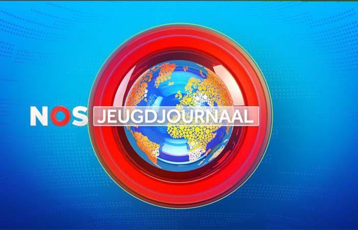 Opening Koningsspelen bij het NOS Jeugdjournaal