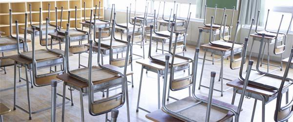Kantoorinrichting voor schoolgebouwen