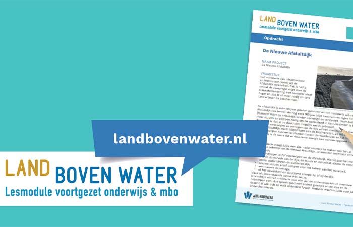 Nieuwe lesmodule voor het MBO over waterbouw