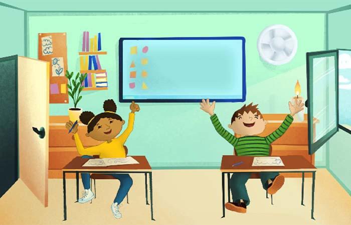 Leer ventileren met gratis lespakket voor basisscholen