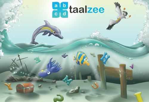 Taalzee: adaptief oefenen en toetsen